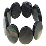 Black Shell, Oval Flat, asnjë, asnjë, asnjë, 36x27x6mm, :6Inç, 3Fillesat/Shumë,  Shumë