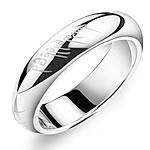 Çeliku Stainless Ring Finger, 316L Stainless Steel, Shape Tjera, asnjë, asnjë, ngjyra origjinale, 5mm, :8.5, 3PC/Shumë,  Shumë