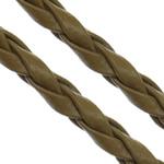 Cord lëkure, PU, 3mm, :100Oborr,  Shumë