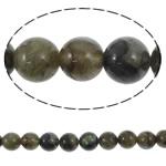 Beads labradorite, Round, natyror, asnjë, 12mm, : 1.5mm, :15.5Inç, 5Fillesat/Shumë,  Shumë