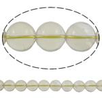 Beads kuarc bizhuteri, Kuarc qartë, Round, natyror, asnjë, 14mm, : 1.5mm, :16Inç, 5Fillesat/Shumë,  Shumë