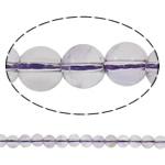 Beads kuarc bizhuteri, Ametrine, Round, natyror, asnjë, 6mm, : 1mm, :15.3Inç, 5Fillesat/Shumë,  Shumë
