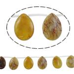 Beads Jade, Jade Xiuyan, Lot, natyror, asnjë, 18x25x7mm, : 1mm, :15.7Inç, 5Fillesat/Shumë,  Shumë