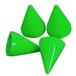 Alloy zink Claw Rivet, Plumb, pikturë, asnjë, e gjelbër, , nikel çojë \x26amp; kadmium falas, 7x10mm, 200Sets/Qese,  Qese