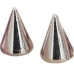 Alloy zink Claw Rivet, Plumb, Ngjyra argjend praruar, asnjë, asnjë, , nikel çojë \x26amp; kadmium falas, 7x10mm, 200PC/Qese,  Qese