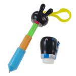 Letër shkrimi, ABS plastike, with Polymer Clay, Lepur, asnjë, asnjë, ngjyra të përziera, 30-118mm, 10PC/Shumë,  Shumë