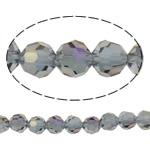 Swarovski Crystal Beads, Round, colorful kromuar, faceted, vjollcë, 6mm, : 1mm, : 15.7Inç, 72PC/Fije floku,  15.7Inç,