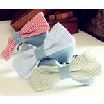 Combs dekorative Flokët, Leckë, with Plastik, Bowknot, asnjë, asnjë, ngjyra të përziera, 10x3cm, 8cm, 50PC/Shumë,  Shumë