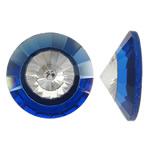 Cabochons Crystal, Kristal, Kon, asnjë, mbrapa banesë & faceted, asnjë, 18x7mm, 50PC/Qese,  Qese