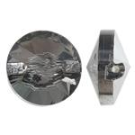 Imitim Swarovski Crystal Beads, Kristal, Round Flat, Ngjyra argjend praruar, faceted & imitim kristal Swarovski, asnjë, 12x7mm, : 1mm, 50PC/Qese,  Qese