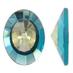 Cabochons Crystal, Kristal, Kon, asnjë, mbrapa banesë & faceted, asnjë, 22x29.50x9mm, : 3mm, 50PC/Qese,  Qese