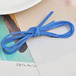 Kurrizit Lesh, blu, 3mm, : 1m, 100Fillesat/Shumë,  Shumë