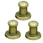 Alloy zink Claw Rivet, Shape Tjera, Ngjyra antike bronz i praruar, asnjë, asnjë, , nikel çojë \x26amp; kadmium falas, 8mm, 100Sets/Qese,  Qese