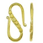 Tunxh, Letër, ngjyrë ari praruar, asnjë, asnjë, , nikel çojë \x26amp; kadmium falas, 10x22x2mm, 200PC/Qese,  Qese