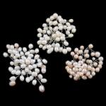 Pearl ujërave të ëmbla karficë, Pearl kulturuar ujërave të ëmbla, with Tunxh, Shape përziera, natyror, ngjyra të përziera, 6-7mm, 3PC/Qese,  Qese