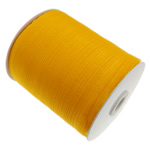 Organza Ribbon, asnjë, asnjë, thellë të verdhë, 0.7cm, :2500Oborr, 5PC/Shumë,  Shumë