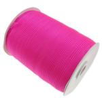 Organza Ribbon, asnjë, asnjë, fuchsia, 1cm, :2500Oborr, 5PC/Shumë,  Shumë