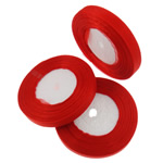Organza Ribbon, asnjë, asnjë, i kuq, 1.3cm, :2500Oborr, 50PC/Shumë,  Shumë