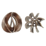 Beads bizhuteri bronzi, Tunxh, Shape Tjera, ngjyrë bakri të praruar antike, asnjë, asnjë, , nikel çojë \x26amp; kadmium falas, 13x14mm, : 1mm, 50PC/Qese,  Qese