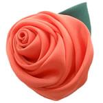 Mëndafsh, Lule, asnjë, asnjë, i kuq, 60x60mm, 25PC/Shumë,  Shumë
