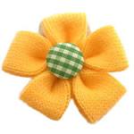 Lesh, Lule, asnjë, asnjë, i verdhë, 50x50mm, 100PC/Shumë,  Shumë