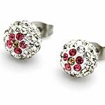 Vath diamant i rremë, diamant i rremë Shtrim bead, Round, ngjyrë platin praruar, asnjë, asnjë, 10mm, 20Çiftet/Shumë,  Shumë