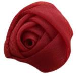 Silk pe, Lule, asnjë, asnjë, kuqe të errët, 30x30mm, 140PC/Shumë,  Shumë