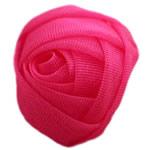 Silk pe, Lule, asnjë, asnjë, rose carmine, 30x30mm, 140PC/Shumë,  Shumë