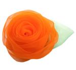 Silk pe, Lule, asnjë, asnjë, portokalli thellë kuqalashe, 65x65mm, 30PC/Shumë,  Shumë