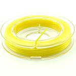 Thread Crystal, elastik, asnjë, i verdhë, 0.30mm, :10m, 50PC/Shumë,  Shumë