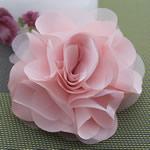 Saten Ribbon, with Silk pe, asnjë, asnjë, rozë, 100x100mm, 30PC/Shumë,  Shumë