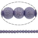 Stardust Glass Beads, Xham, Round, asnjë, vjollcë, 10mm, : 1mm, : 31.5Inç, 10Fillesat/Qese, approx83Pcs/Strand,  Qese