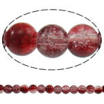 Glass Beads kërcitje, Xham, Round, asnjë, dy-ton, asnjë, 8mm, : 1-1.5mm, : 31.5Inç, 10Fillesat/Qese, approx110Pcs/Strand,  Qese