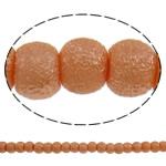 Stardust Glass Beads, Xham, Round, asnjë, kuq pak portokalli, 5mm, : 1mm, : 31.5Inç, 10Fillesat/Qese, approx227Pcs/Strand,  Qese