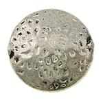Beads bizhuteri Alloy zink, Round Flat, Ngjyra antike argjendi praruar, ra, asnjë, , nikel çojë \x26amp; kadmium falas, 19x19x9mm, : 2mm, 200PC/Qese,  Qese