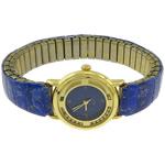 Byzylyk Moda Rights Watch, Alloy zink, with Natyrore lapis lazuli, Shape Tjera, i praruar, asnjë, asnjë, , nikel çojë \x26amp; kadmium falas, 24x26x7mm, 11mm, :7.5Inç, 2PC/Shumë,  Shumë