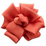 Saten Ribbon, asnjë, asnjë, kuq pak portokalli, 70x70mm, 30PC/Shumë,  Shumë