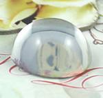 Cabochons Glass, Xham, Kube, asnjë, i tejdukshëm, qartë, 16x16x8.50mm, 450PC/Qese,  Qese