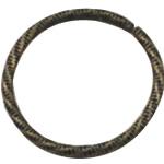 Alloy zink Lidhja Ring, Round, Ngjyra antike bronz i praruar, asnjë, asnjë, , nikel çojë \x26amp; kadmium falas, 25x25mm, 600PC/Qese,  Qese