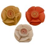 Leckë, Lule, asnjë, asnjë, ngjyra të përziera, 45x45mm, 70PC/Shumë,  Shumë
