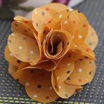 Leckë, Lule, asnjë, asnjë, i verdhë, 45x45mm, 80PC/Shumë,  Shumë