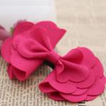 Leckë, Bowknot, asnjë, asnjë, kuqe të ndritshme rozë, 100x70mm, 60PC/Shumë,  Shumë