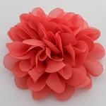 Silk pe, Lule, asnjë, asnjë, i kuq, 90x90mm, 40PC/Shumë,  Shumë