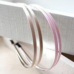 Hair Bands, Saten Ribbon, with Stainless Steel, asnjë, asnjë, ngjyra të përziera, 120x15mm, 50PC/Shumë,  Shumë
