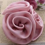 Mëndafsh, Lule, asnjë, asnjë, rozë, 90x90mm, 30PC/Shumë,  Shumë