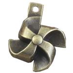 Pendants Zink Alloy, Alloy zink, Shape Tjera, Ngjyra antike bronz i praruar, asnjë, asnjë, , nikel çojë \x26amp; kadmium falas, 26x21mm, : 2mm, 100PC/Qese,  Qese