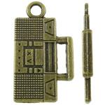 Pendants Zink Alloy Tool, Alloy zink, Shape Tjera, Ngjyra antike bronz i praruar, asnjë, asnjë, , nikel çojë \x26amp; kadmium falas, 13x23x2mm, : 2.5mm, 580PC/KG,  KG