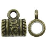 Beads Alloy zink Beil, Tub, Ngjyra antike bronz i praruar, asnjë, asnjë, , nikel çojë \x26amp; kadmium falas, 9x11x7mm, : 2mm, 1110PC/KG,  KG