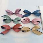 Saten Ribbon, Bowknot, asnjë, asnjë, ngjyra të përziera, 85x40mm, 100PC/Shumë,  Shumë