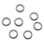 Edelstahl Verbindungsring, Kreisring, originale Farbe, 4x1.50mm, Bohrung:ca. 2.5mm, 2000PCs/Tasche, verkauft von Tasche